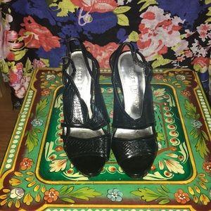 White House Black Market 'Emeril' heels, size 6.5